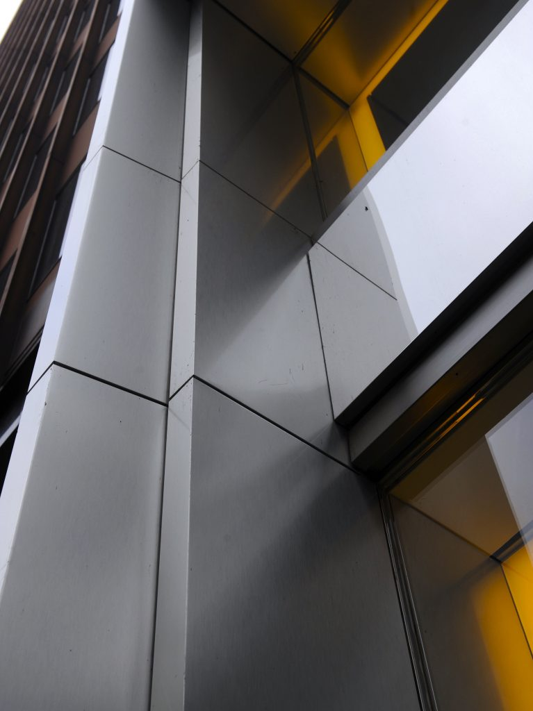 aluminim wall